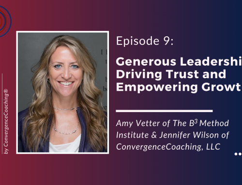 Inspired Ideas Podcast – Episode 9: Generous Leadership: Driving Trust and Empowering Growth with Amy Vetter