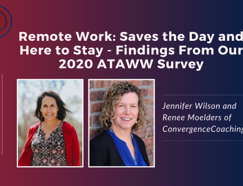 Inspired Ideas Podcast - Remote Work: Saves the Day and Here To Stay - Findings From Our 2020 ATAWW Survey