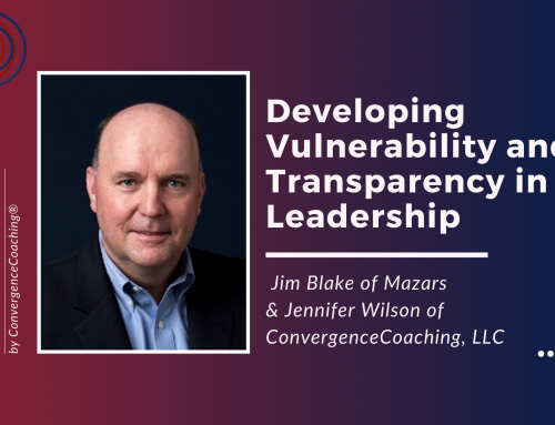 Inspired Ideas Podcast -Developing Vulnerability and Transparency in Leadership with Jim Blake